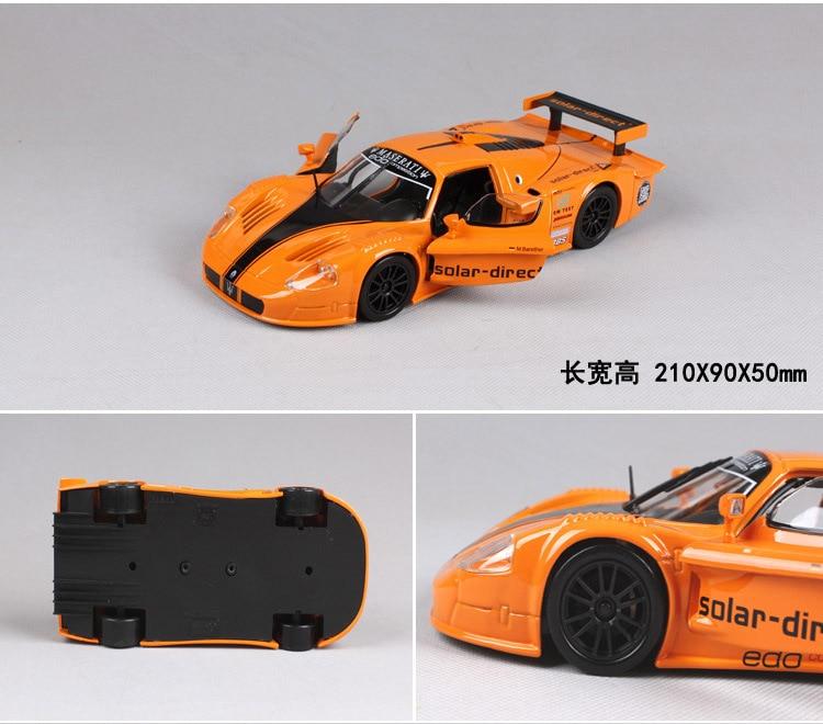 1:24 carro esportivo gt racing collector edição