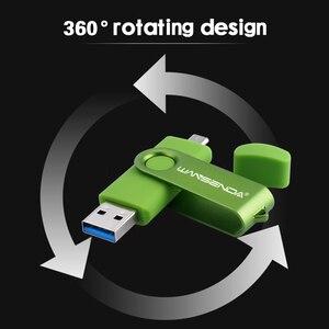 Image 3 - جديد WANSENDA USB 3.0 محرك فلاش usb OTG القلم محرك 16 جيجابايت 32 جيجابايت 64 جيجابايت 128 جيجابايت بندريف 256 جيجابايت رقاقة ذاكرة usb التخزين الخارجي