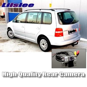 Kamera cofania samochodu LiisLee dla volkswagena VW Touran Golf Touran Night Vision HD wodoodporna dedykowana kamera tylna tanie i dobre opinie Plastikowe + Szkło Drutu ACCESSORIES Z tworzywa sztucznego
