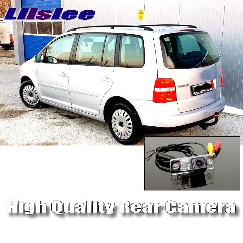 LiisLee Car Reversing Image Camera For Volkswagen VW Touran Golf Touran Night Vision HD WaterProof Dedicated Rear View Back CAM