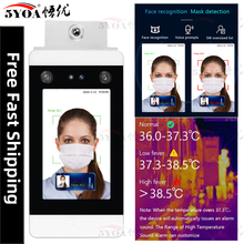 Body-Thermometer Camera Temperature-Measurement-System Access-Control Face-Recognition