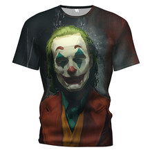 The Joker Heath Ledger Costume Dc Dark Knight Joker 3d T Shirt Joker Suit Clothing Kids/girl Sweatshirt Joker Batman Dc Clothes(China)