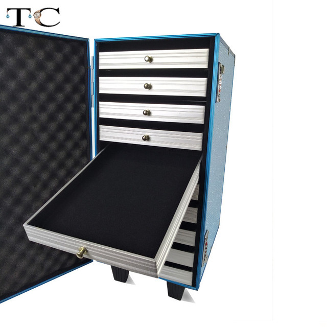 Big Quantity Storage Box Fashion Jewelry Showed Organizer Box Jewellery Organizer for Build Up Boxes Bag