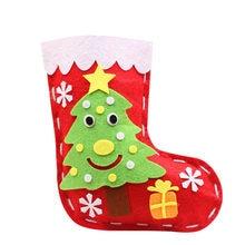 10 шт Детские Рождественский чулок ручной работы набор «сделай