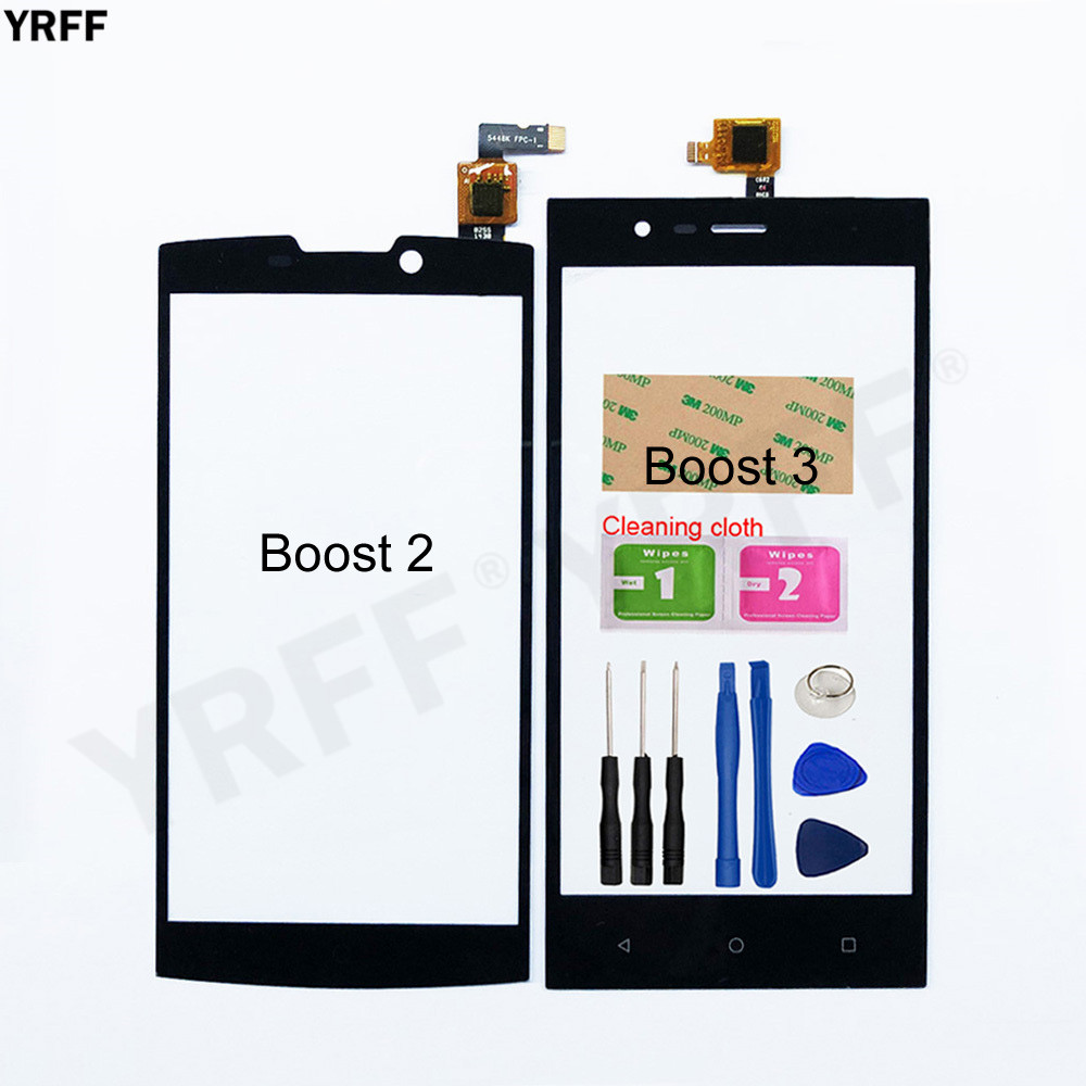 5.0'' Boost2 Boost3 Touch Screen For Highscreen Boost 2/3 Touch Screen Digitizer Sensor Glass Panel Replacement