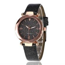 Woman Watch 2019 Luxury Crystal Bright Diamond Dial Ladies Watches Starry Space Quartz Clock Jewelry Zegarek Damski