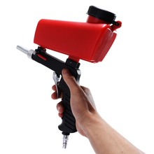 Portable Gravity Sandblasting Spray Gun Pneumatic Set DIY Mini Blasting Device 90psi Sandblaster Adjustable Sandblasting Machine