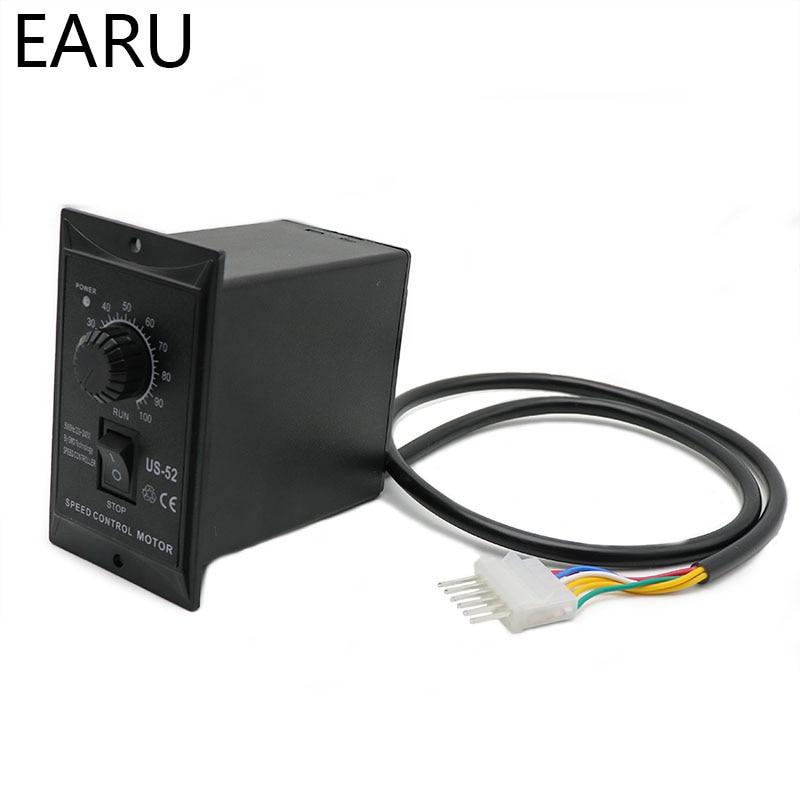 400W AC 220V 50/60Hz Motor Speed Pinpoint Regulator Controller US-52 Forward & Backward