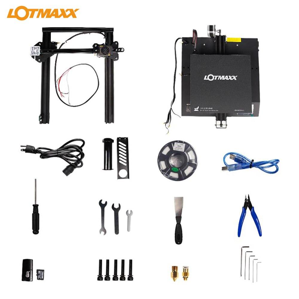 Image 5 - Lotmaxx SC 10 kit impressora 3d impressão silenciosa 235*235*280mm construir volume built in filamento da fonte de alimentação segurança correr para fora detecçãoImpressoras 3D   -
