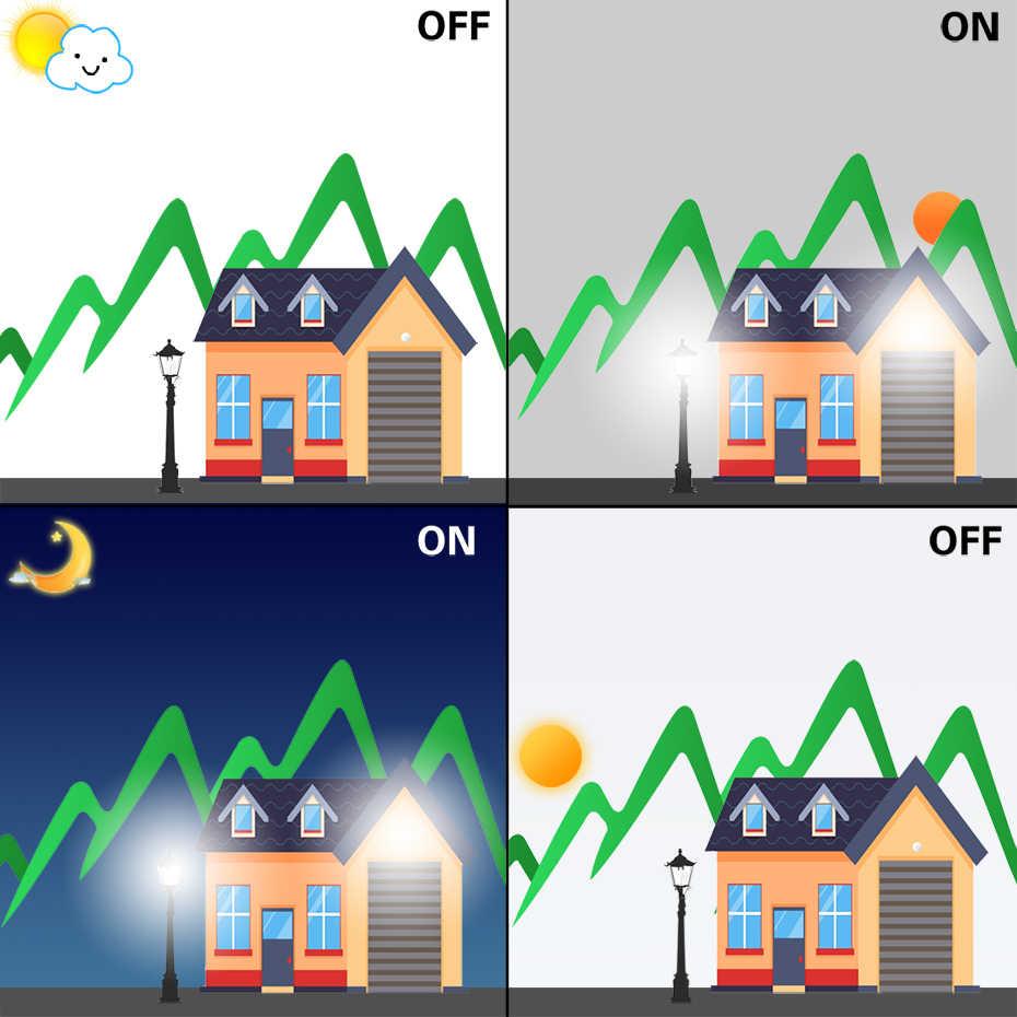 IP44 PIR lámpara antimosquitos amarillo LED Bug bombilla al aire libre E27 B22 10W 15W Luz Para horas nocturnas bombillas al aire libre ahorro de energía