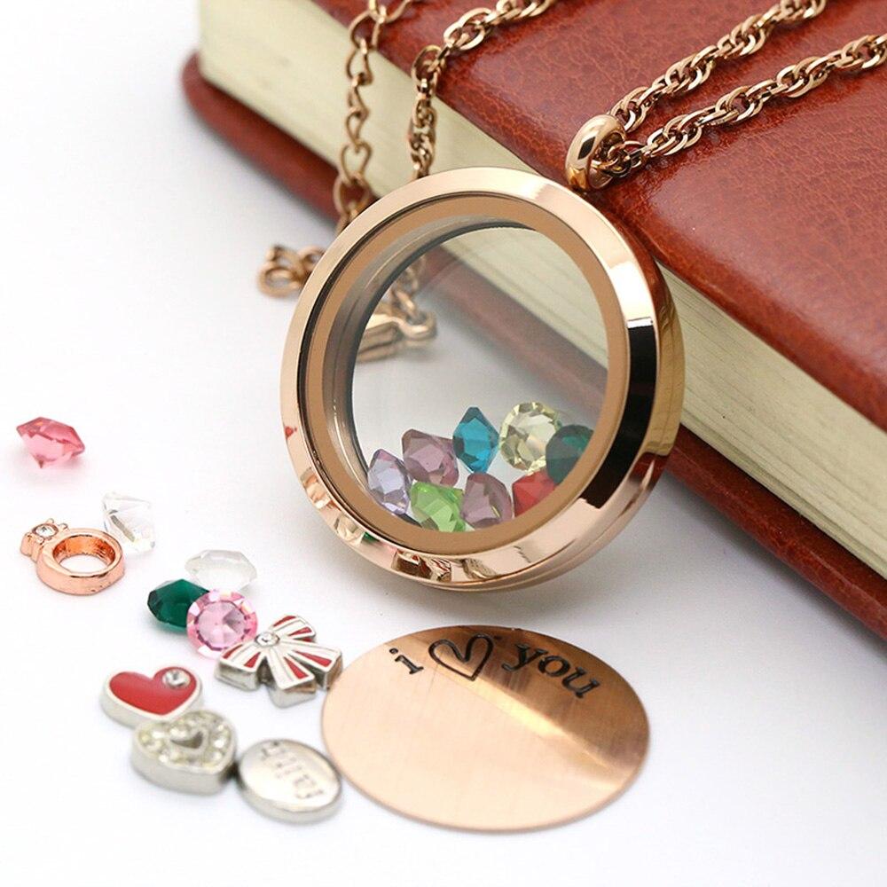 BOFEE round locket necklace Jewellery gift