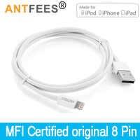 [Certificado MFI] a sincronización de datos Cable de carga rápida Cable USB para iphone 7 Plus 10 8 XS Max XR X para ipad para iphone Cables 1M 3M