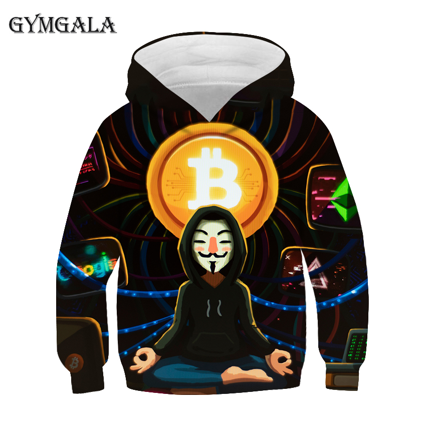 Autumn Men's And Women's Cool Hoodies 3d Printed Bitcoin Tee Fashion Sweatshirt Streetwear Fun Hip Hop Casual Pullover Coat 1