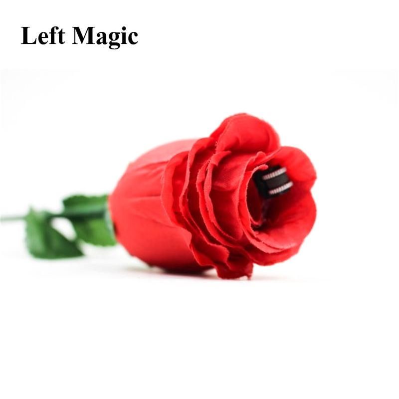 The Fire Rose 2.0 Magic Tricks Fire Magic Props Illusions Stage Magic Trick Close Up Magic Street Mentalism Gimmick Party  Show