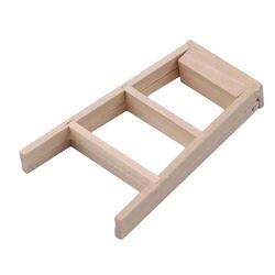1:12 Кукольный домик миниатюрная мебель деревянная лестница Классическая игрушечная мебель Миниатюрная модель игрушки творческие подарки