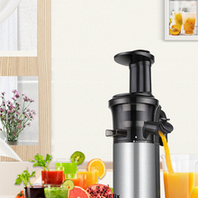 Auger Juicer Extractor Cold-Press Masticating Fruit Compact Stainless-Steel Slow And
