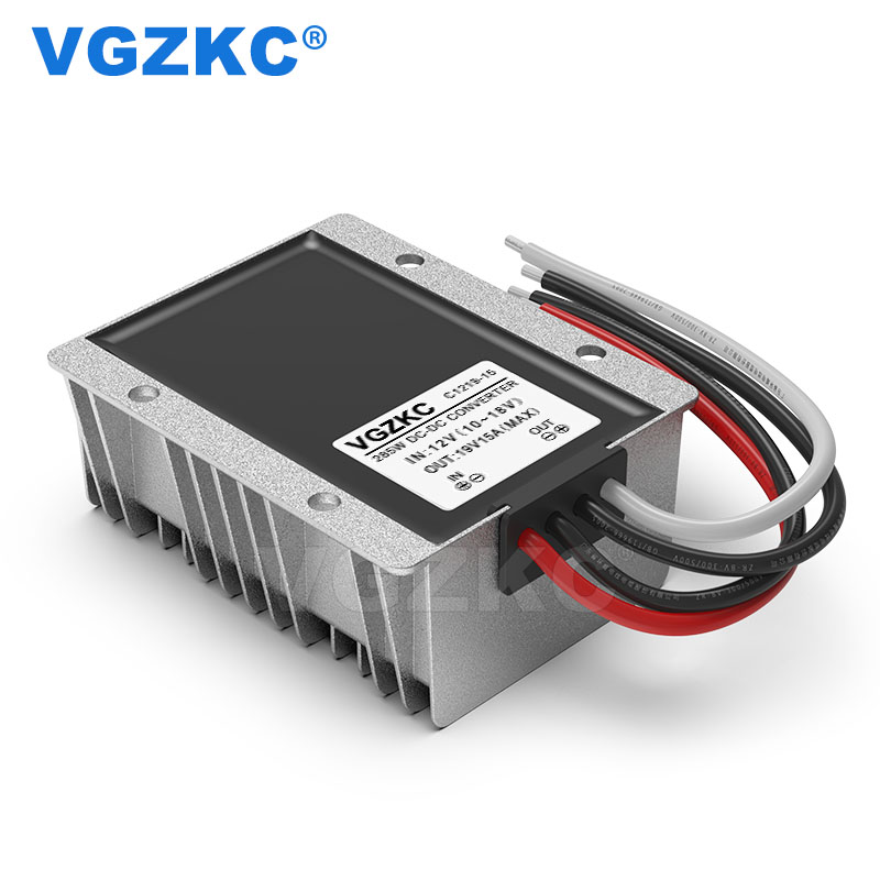 12V to 19V 15A DC power booster 12V to 19V 285W voltage regulator converter 12V to 19V DC power module