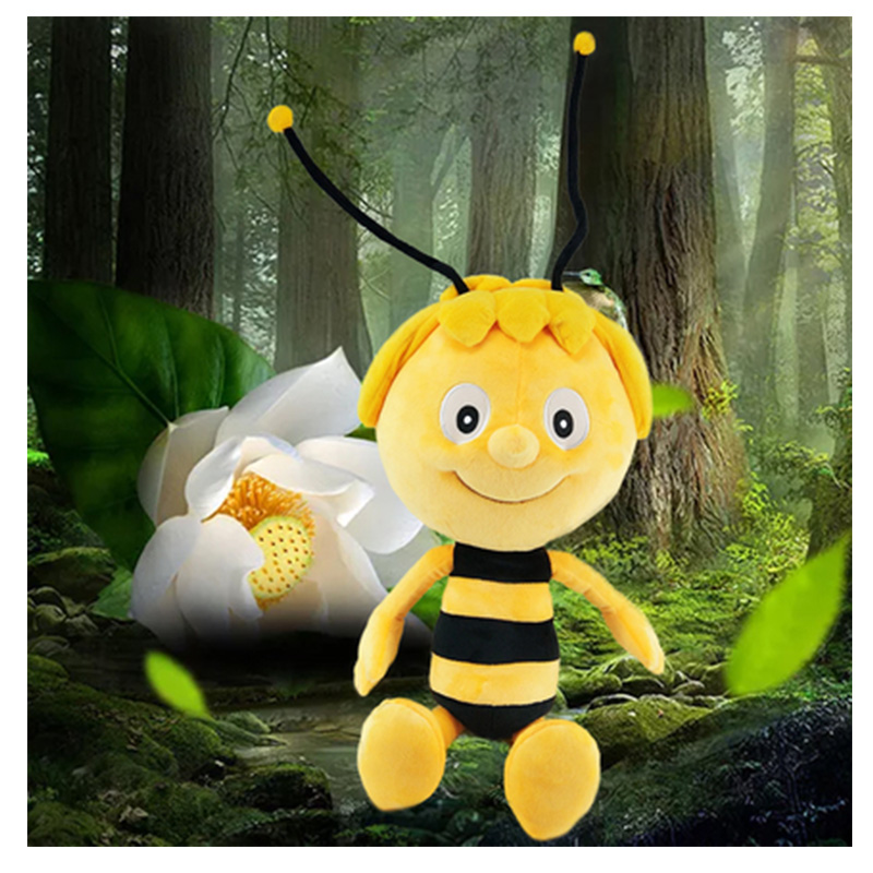 Maya Bee Stuffed Animal Plush Toy Doll Birthday Gift Children Gift  65cm