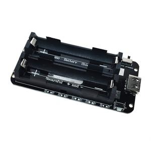 Два напряжения 18650 литиевая Защита аккумулятора V8 мобильный модуль расширения питания 5V/3A 3V/1A Micro USB для Arduino ESP32 ESP8266
