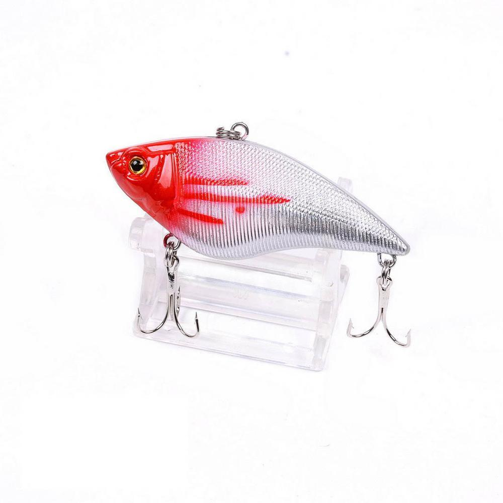1PCS 7cm 16g Wobbler Fishing Lures Rattlin Hook Hard Artificial Plastic VIB Bait Crankbait All Depth Winter Ice Fishing Tackle in Fishing Lures from Sports Entertainment