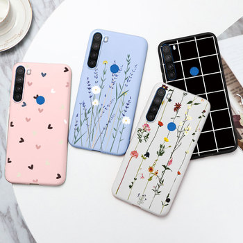 For Cover Xiaomi Redmi Note 8 Case Flowers Love Heart Silicone TPU Coque For Redmi Note 8 Note8 6.3'' Funda Dragon Bumper Shells image