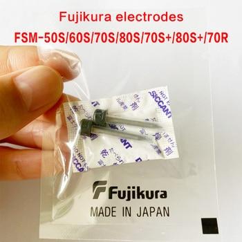 100 pairs Fujikura FSM-50S 60S 70S 80S 70S+ 80S+70R Fiber Fusion Splicer welding Electrode rod made in Japan ELCT2-20A