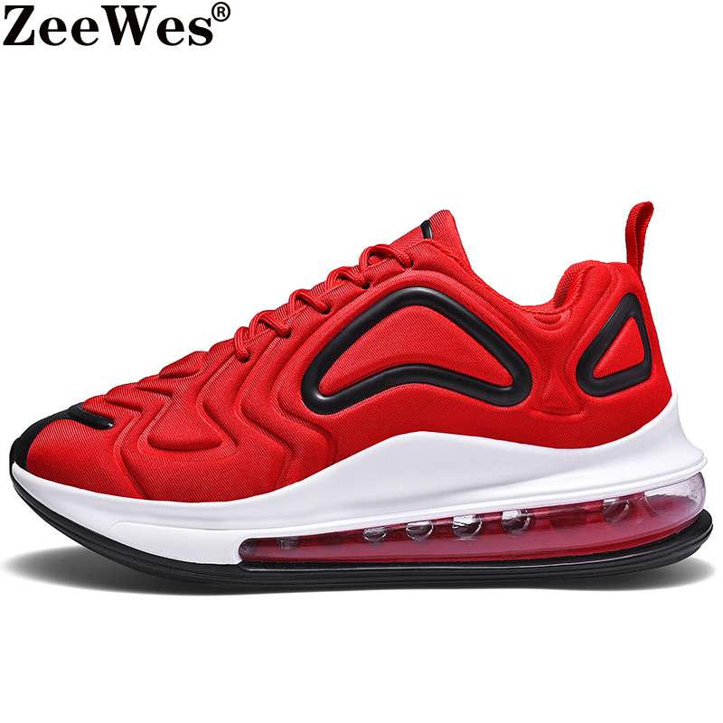 2019Brand Men Sneakers Air Cushioning Jogging Breathable Woman Shoes 720 Full Palm Low Top Sport Training Shoe Zapatillas Hombre image