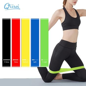 Dr.Qiiwi Resistance Band Elastic Bands for Fitness Training Workout Rubber Loop for Sports Yoga Pilates Crossfit Stretching 1