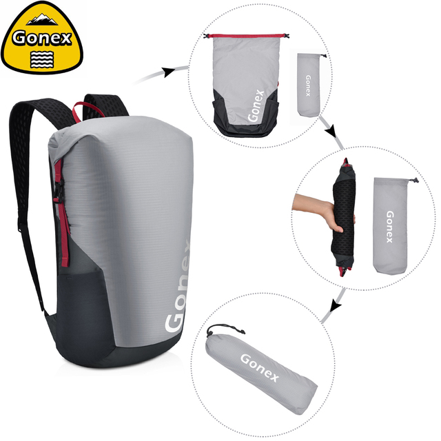 Gonex 35L Ultralight Backpack Foldable