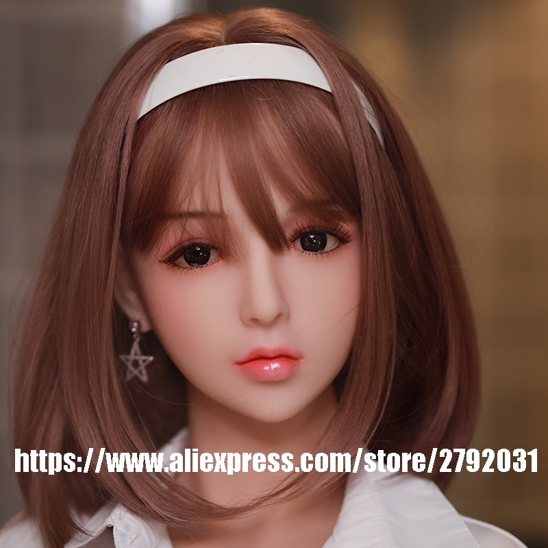 Newest Love Girl <font><b>Doll</b></font> <font><b>Head</b></font> for Silicone <font><b>Sex</b></font> <font><b>Doll</b></font> Love <font><b>Doll</b></font> <font><b>Head</b></font> Oral Sexy Toys Likelife <font><b>Sex</b></font> <font><b>Doll</b></font> <font><b>Head</b></font> for Men image