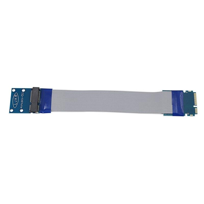 Mini Pci-E Extension Cable Computer Wireless Network Card Extension Cable Computer Accessories For Extending 52 Pin Or Msata Dev