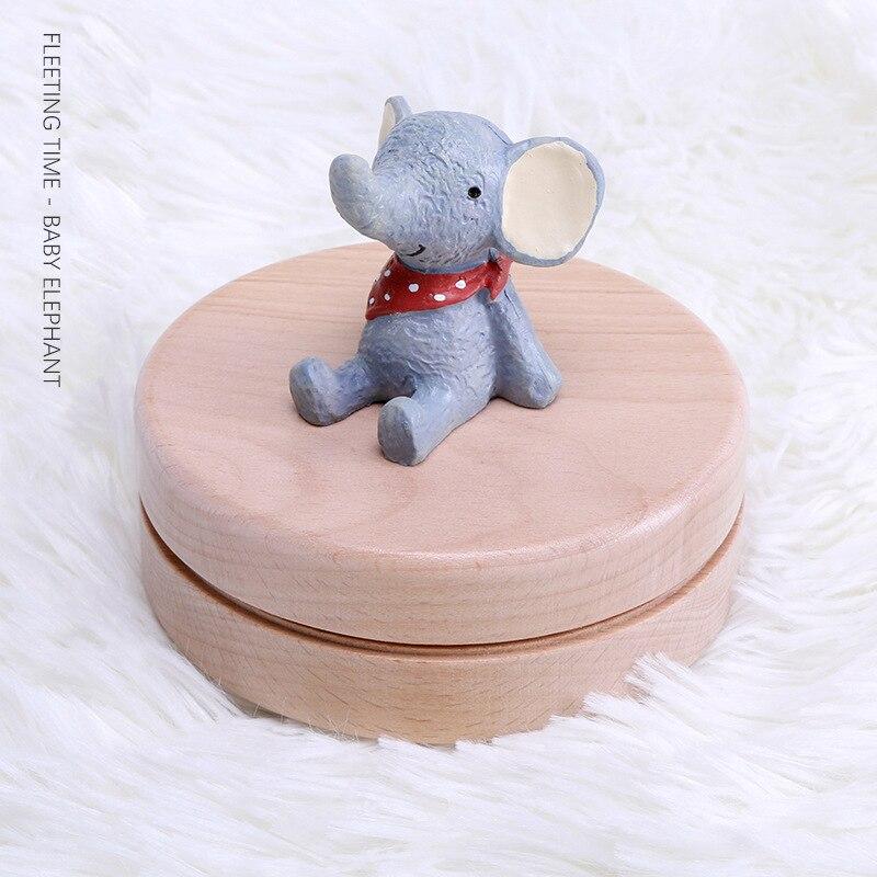 Буковая коробка для хранения детских зубов органайзер молока