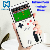 Color Display 36 Classic Game Phone Case For HUAWEI P20 P30 Pro Mate 20 Pro Nova 3 Console Game boy Soft TPU Silicone Cover|Fitted Cases| |  -