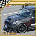 Für F56 Mini Cooper S DAG Stil Carbon Vorder Venter Fender Trim-in Stoßstangen aus Kraftfahrzeuge und Motorräder bei