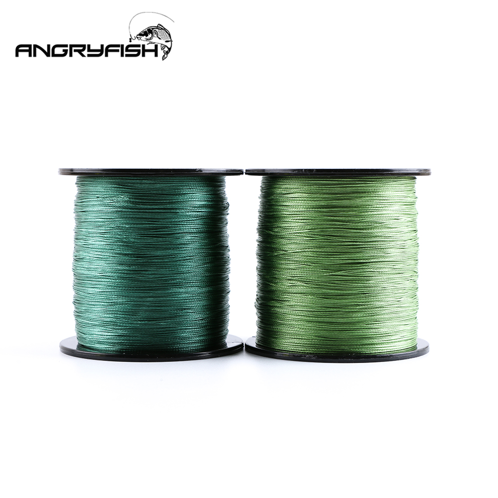 Angryfish 500 Meters 8X Braided Fishing Line 8 Colors Super Strong PE Line Strong endurance|Fishing Lines| |  - title=