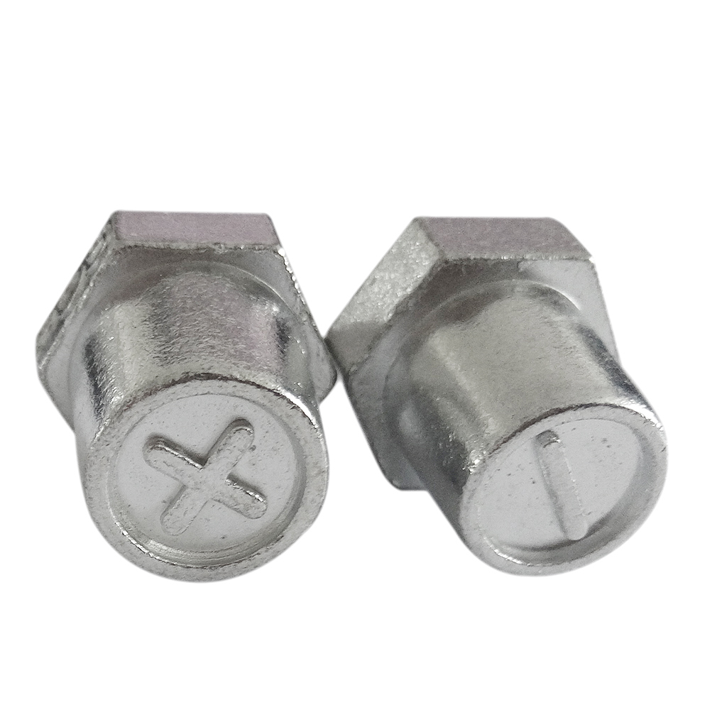 2 Pieces Replacement Auto <font><b>Car</b></font> <font><b>Battery</b></font> Terminal Clamp Clips <font><b>Connectors</b></font> image