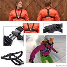 цена на For go pro Accessories Chest Belt Action Camera Holder Sport Cam Strap Mount Adjustable Strap For Xiaomi Yi Gopro Hero 5/4/3/3+