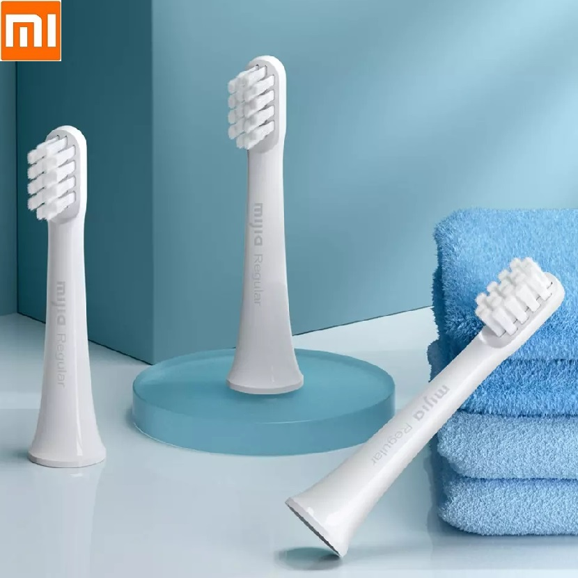 Xiaomi Mijia Sonic Electric Toothbrush Replacement Heads Universal 3pcs High-density Soft Fur  Brush Head