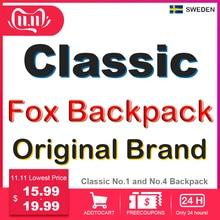 Classic Brand Fox Backpack Men Women Waterproof Backpack Fashion Laptop Travel
