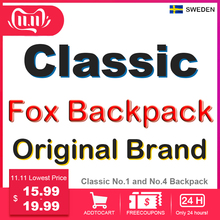 Classic Brand Fox Backpack Men Women Waterproof Backpack Fashion Laptop