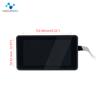 Nova3D 6Inch 2K LCD Bene4/Elfin Light Curing Display Screen Module 2560x1440 Parts Kits Accecceries High Brightness
