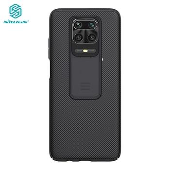 Redmi Note 9 Pro Case Nillkin Slide Camera Protection Cover for Xiaomi Redmi Note 9 Pro Max 9S 10X 5G Casing