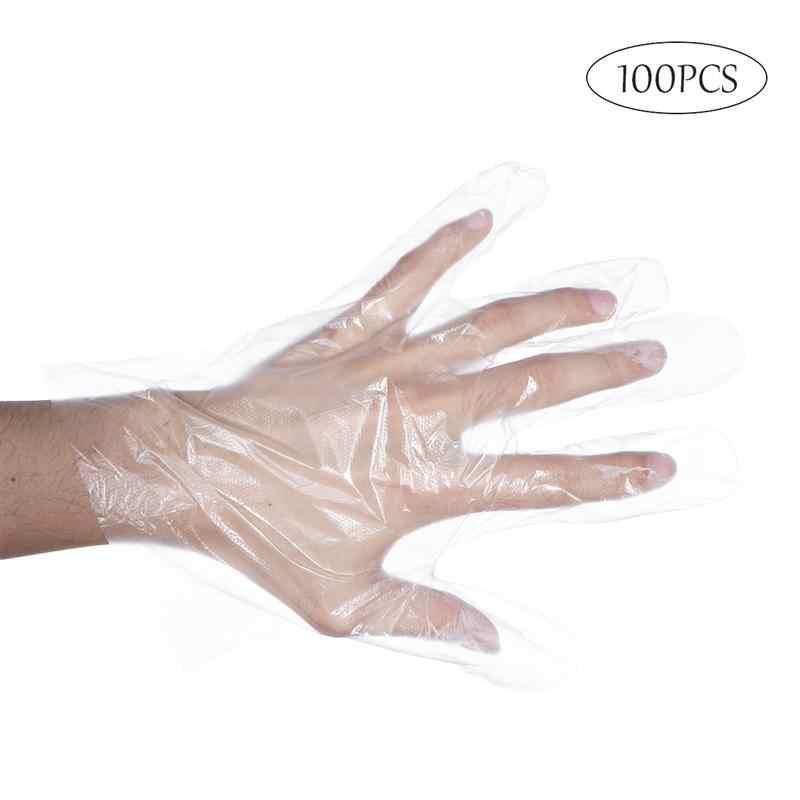 100pcs Disposable Gloves Garden BBQ Kitchen Outdoor Multifuction Gloves
