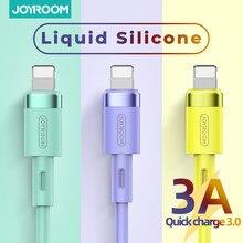 Carregador para iphone 12 pro max 11 x xs 8 7 6 6s 5 ipad cabo para carregador de carregamento cabo de silicone líquido para iphone cabo