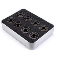 16pcs 608 cuscinetto ABEC 9 sfera di ceramica inline Skate Cuscinetto balineras Skateboard sfera in acciaio da corsa da skate cuscinetti a sfera in ceramica 16 pz/lotto
