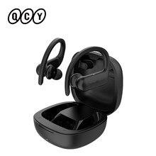 QCY T6 Bluetooth 5.0 TWS Earphones IPX5 Waterproof HD Calls Wireless Binaural In-Ear Sports Headphones Long Standby App Custom