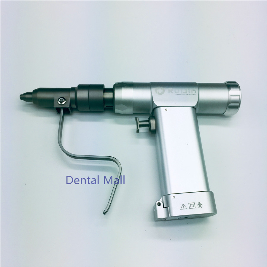 Portable Cannulated  Electric Bone Drill Animal Multifunction Swing Saw Hollow K needle AO interface Orthopedic Instrument