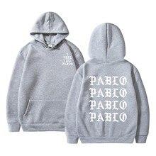 Man Clothing Men Hoodies Like Kanye-West Pablo Paul Sweatshirt Streetwear-Hoody Long-Sleeve