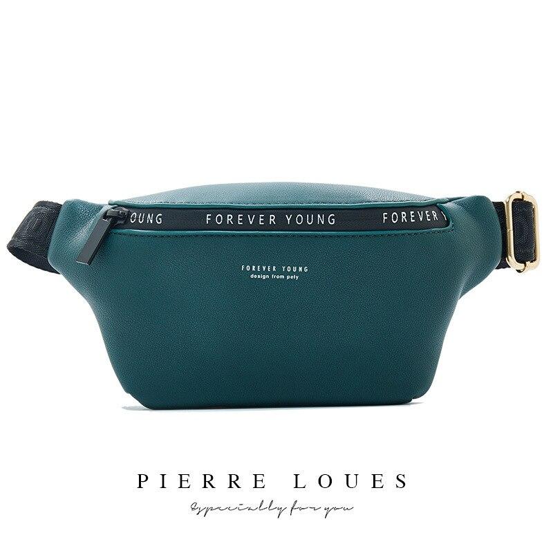 YIZHONG Leather Luxury Brand Fanny Pack Unisex Large Capacity Waist Pack Waist Bag for women Belt Bag Multifunction Chest Bag