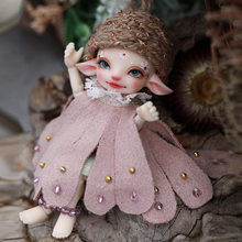 Bjd boneca shuga fada pano 1/13 boneca realpuki fairyland resina brinquedos para crianças presente surpresa para meninas flor elf